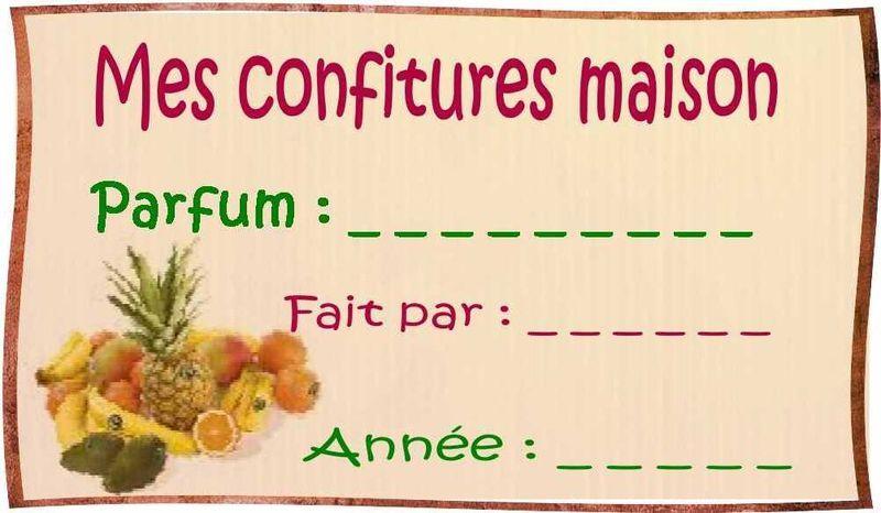 Encore Des Etiquettes Une Serie Pour La Cuisine Etiquette Confiture Etiquettes Gratuites Etiquettes Confitures Gratuites