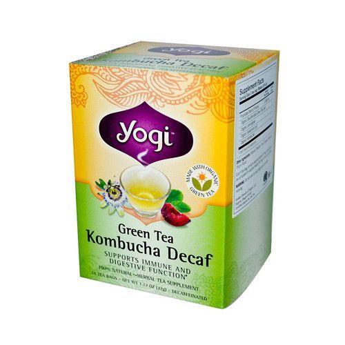 Yogi Green Kombucha Decaf Tea (1x16 Bag)