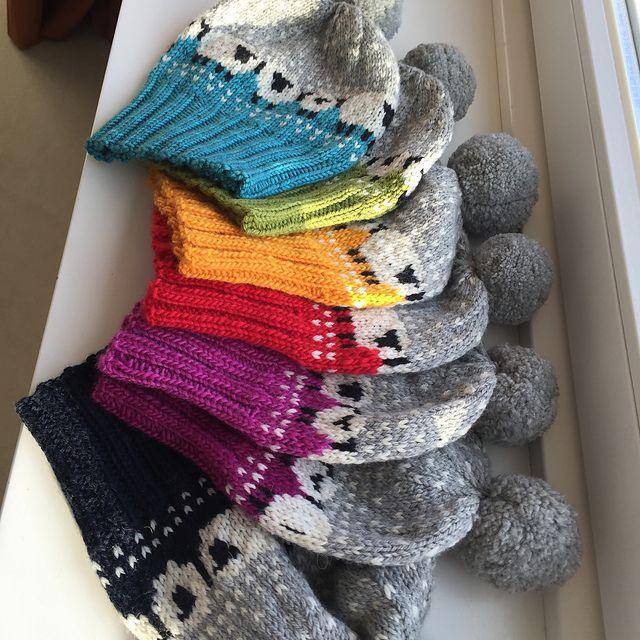Baa-ble Hat pattern by Donna Smith | Stricken, Mütze und Strickideen