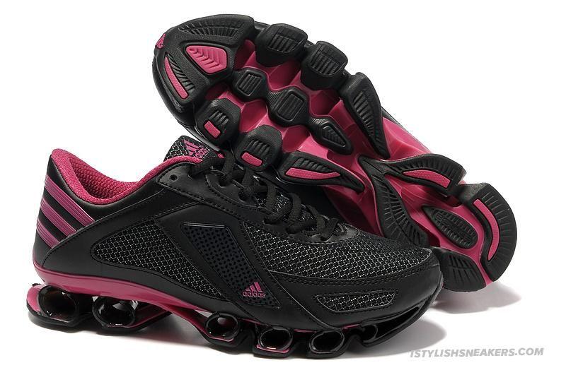 adidas bounce preto e rosa