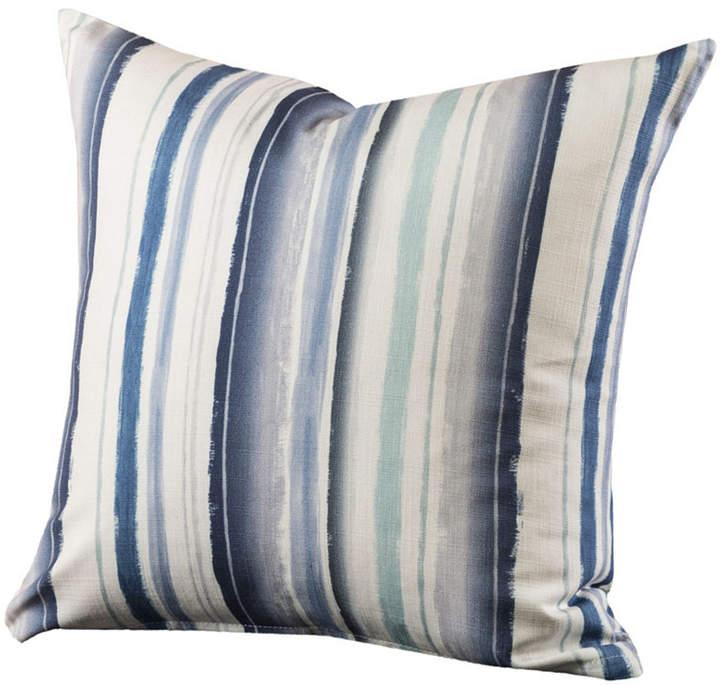Siscovers Bayview Stripe 26 Designer Euro Throw Pillow Designer