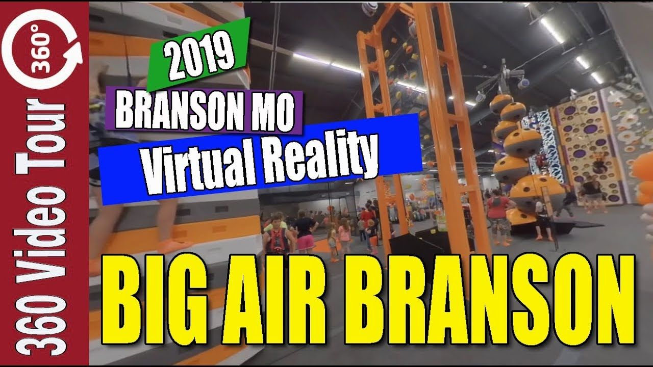 VR Big Air Branson Walkthru Branson Missouri YouTube