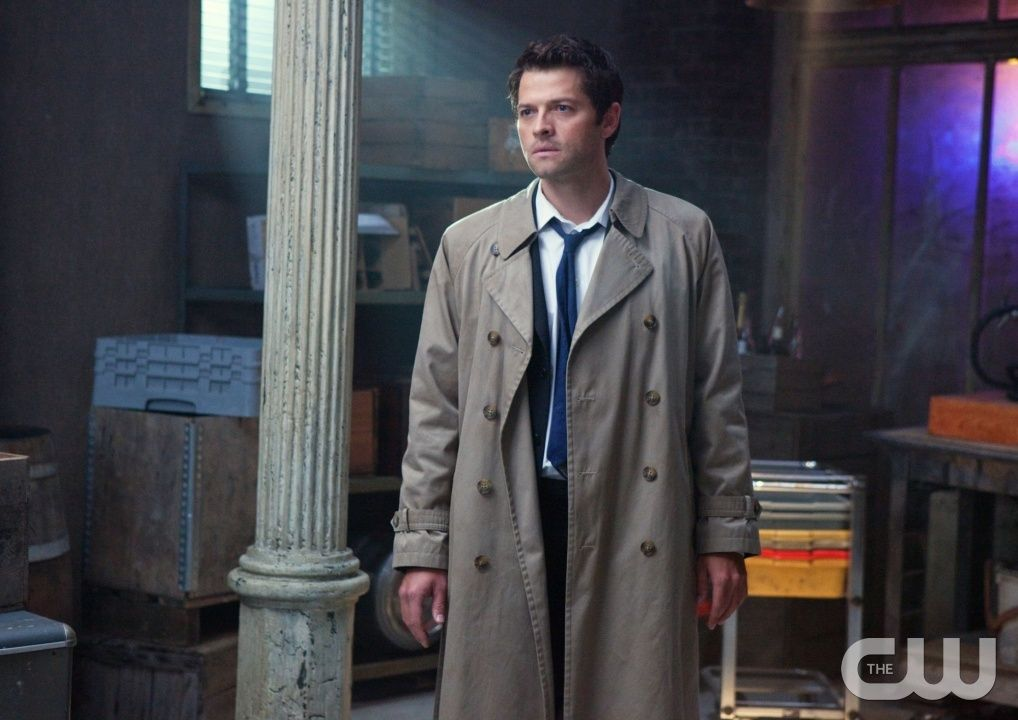 """""""My Bloody Valentine"""" - Misha Collins as Castiel in SUPERNATURAL on The CW.  Photo: Jack Rowand/The CW  �2010 The CW Network, LLC. All Rights Reserved.pn"""