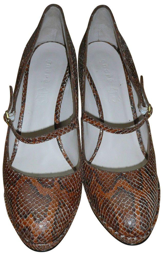 ESCARPINS ANDRÉ modèle PRINCIER EN CUIR FAÇON FAÇON FAÇON PYTHON chaussures et 26f249