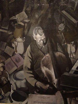 Edwin Dickinson, The Cello player