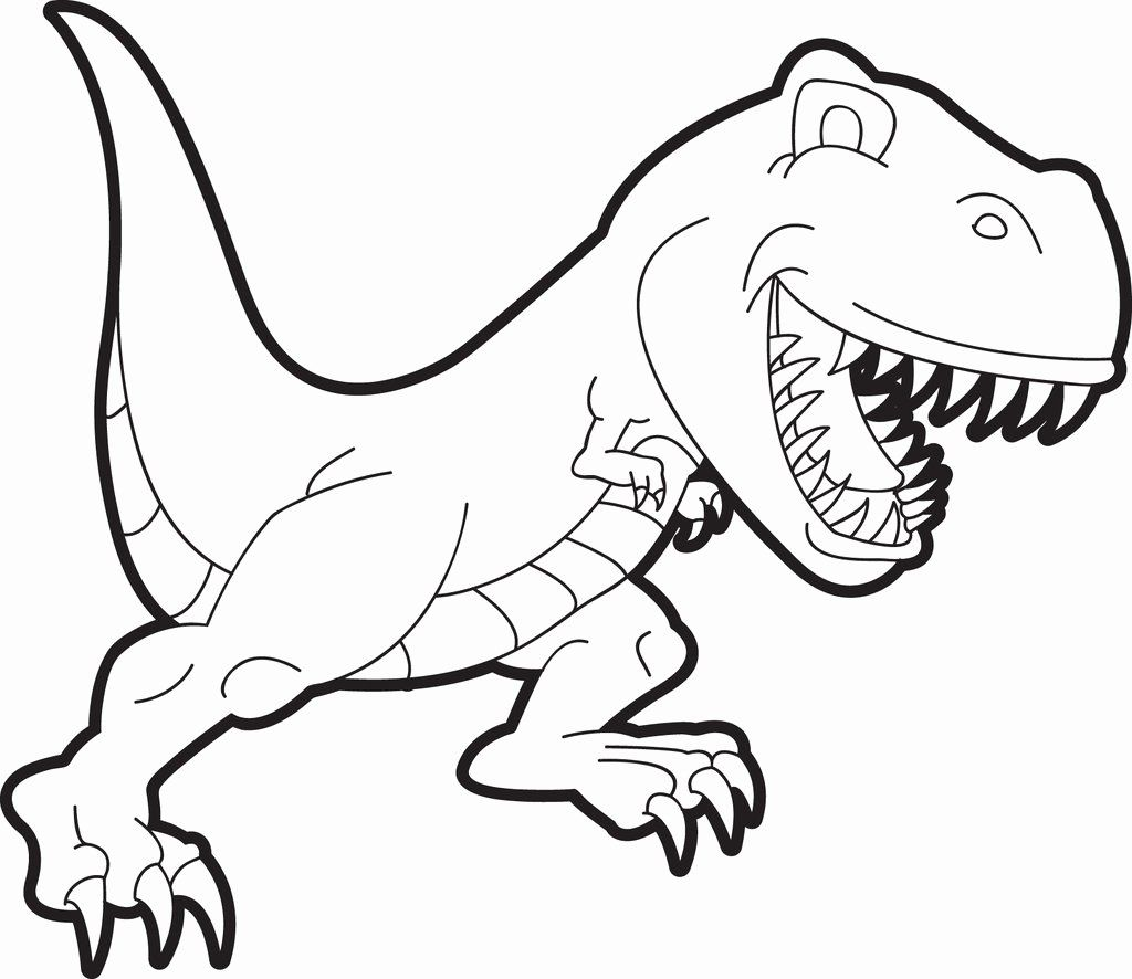 32 T Rex Coloring Page In