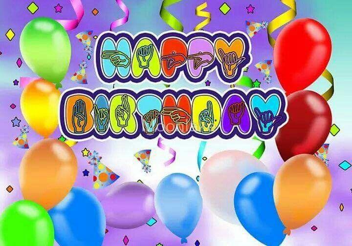 Asl Happy Birthday Asl Happy Birthday Birthday Happy Birthday
