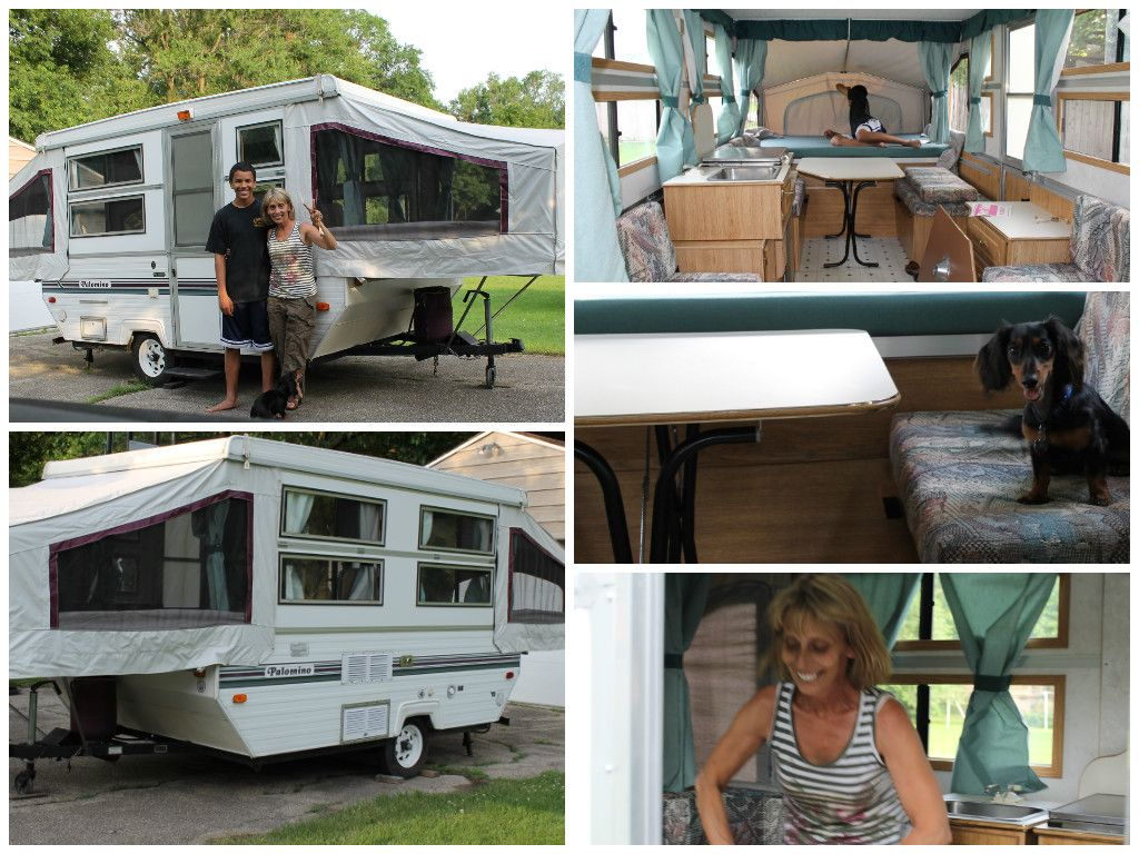 The Joy Of Having A Camping Camper Rv On A Camping Trip Pop Up