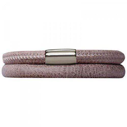 endless Damen Armband Edelstahl Leder 36.0 cm 12105-36 - http://schmuckhaus.online/endless-3/endless-damen-armband-edelstahl-leder-12105-2