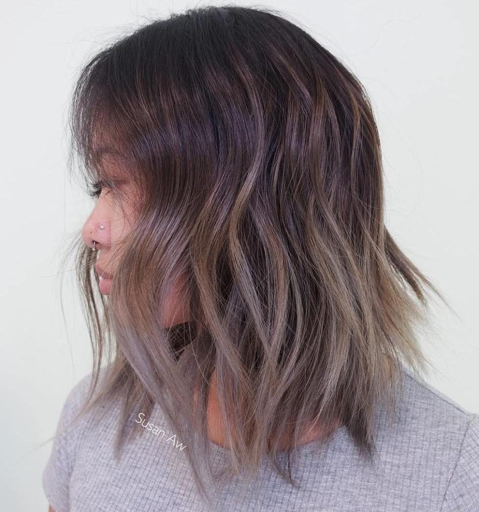 inspiring long bob hairstyles and haircuts pinterest ash