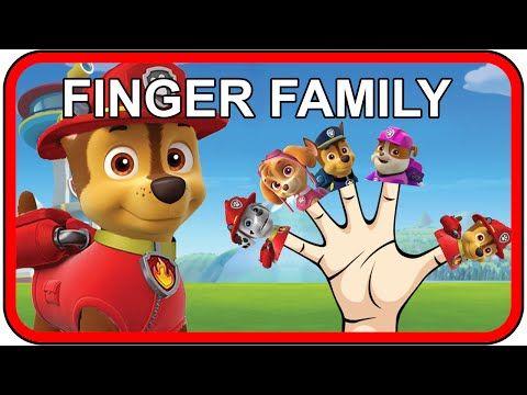 Paw Patrol Finger Family Songs