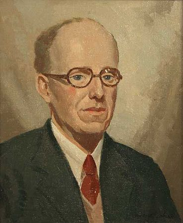 Maurice Canning Wilks ARHA RUA (1911-1984), Portrait of Lawrence Moody at Morgan O'Driscoll Art Auctions