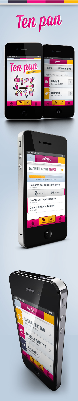 Ten Pan App App Design Mobile Design Patterns App Design Inspiration