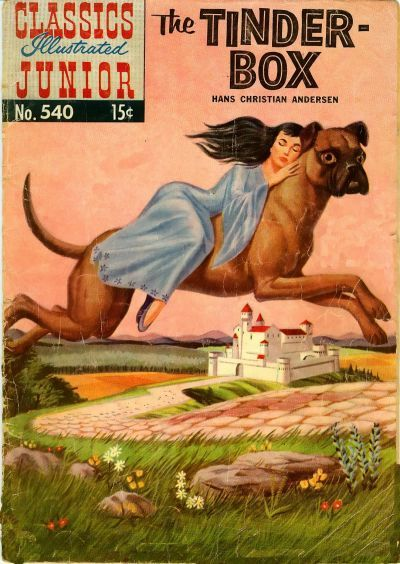 Cover for Classics Illustrated Junior (Gilberton, 1953 series) #540 - The Tinder-Box