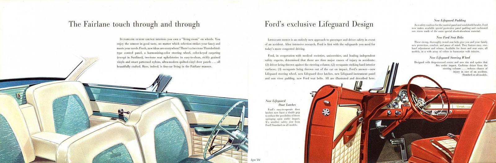 56 Ford Fairlane Interior Ford Fairlane Ford Ford Interior
