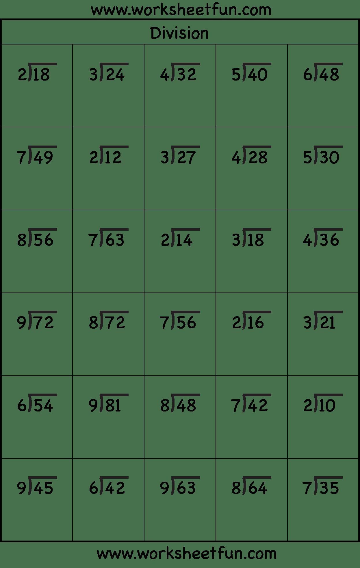 10 3rd Grade Math Worksheets - #Worksheet Template   Math division  worksheets [ 1967 x 1246 Pixel ]