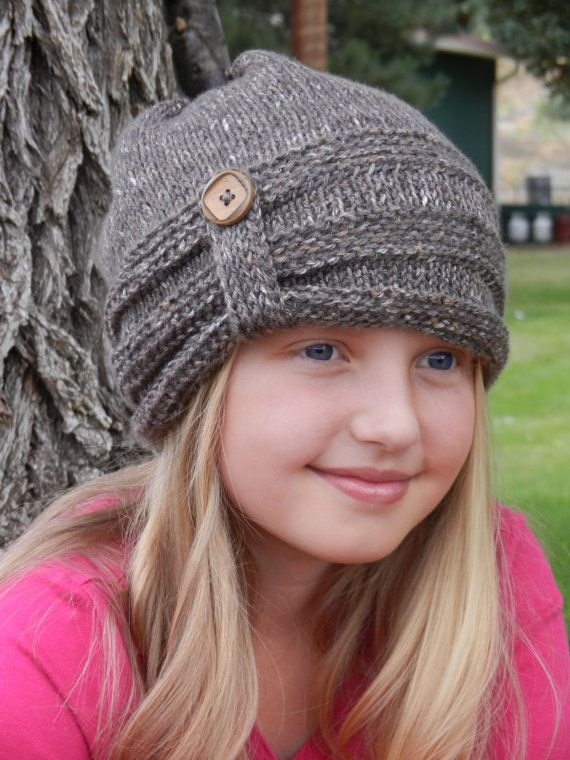 Crochet Slouch Hat Crochet Pattern- Tunisian Crochet Hat Pattern ...