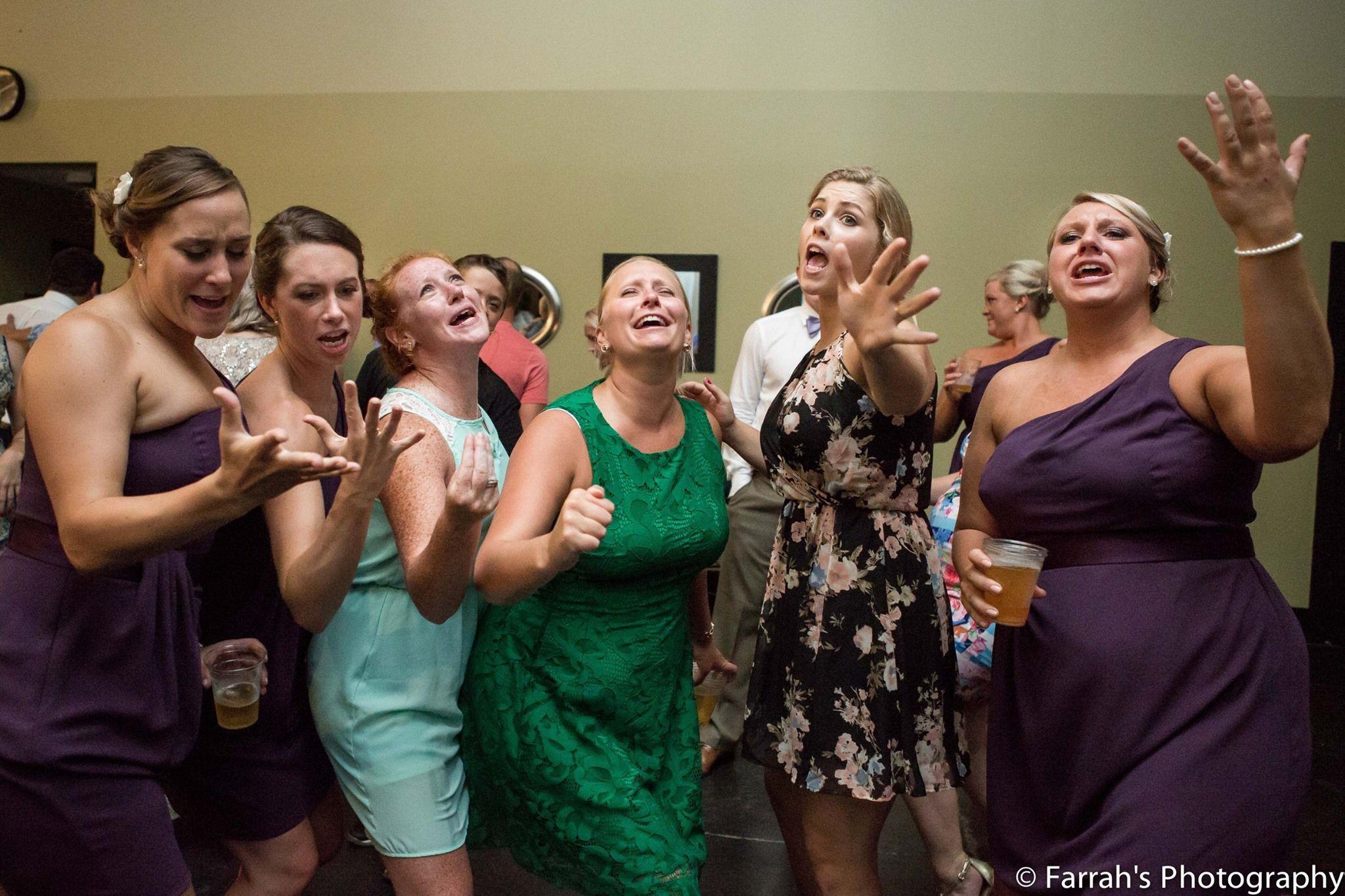 www.farrahsphotography.net #ReceptionFun #SingItGirls #FarrahsPhotography #HavingABlast