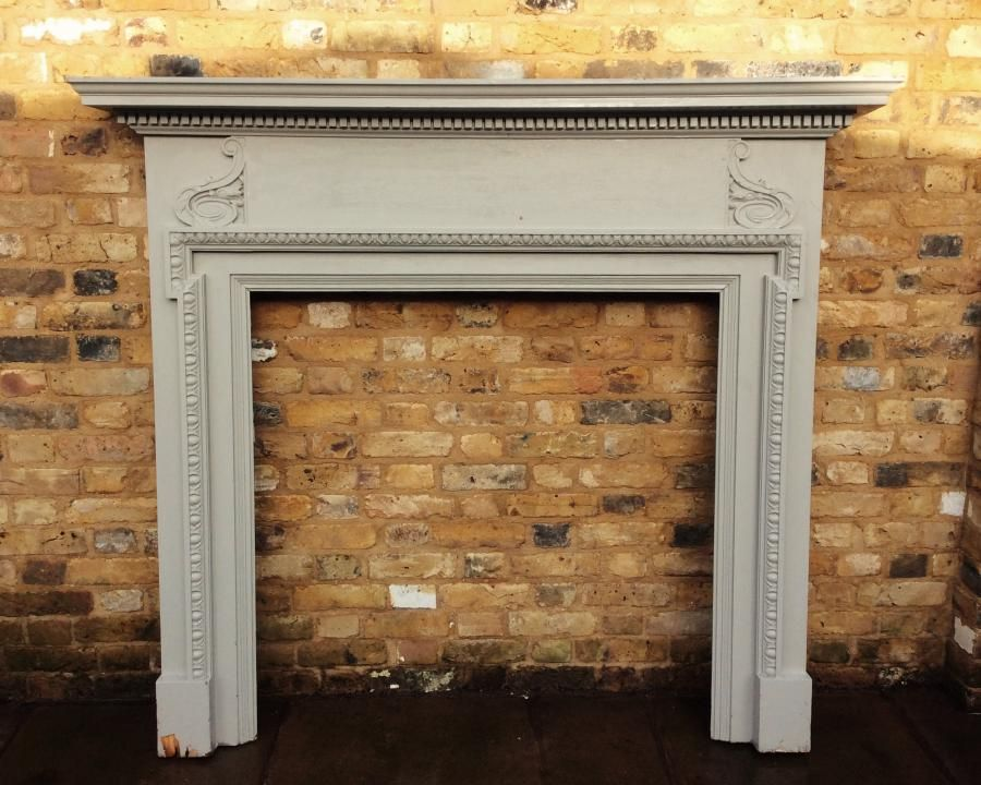 Authentic Georgian style fire surround for sale on SalvoWEB from ...