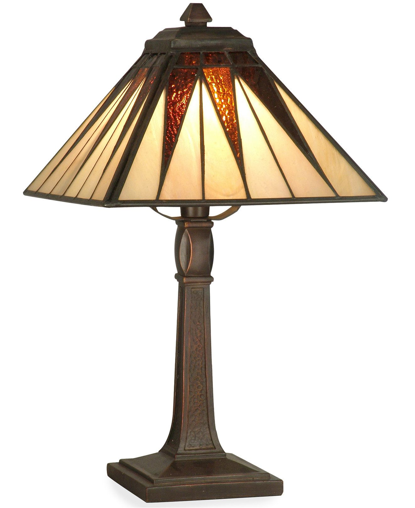 Dale Tiffany Cooper Tiffany Accent Table Lamp Reviews All Lighting Home Decor Macy S Lamp Table Lamp Dale Tiffany
