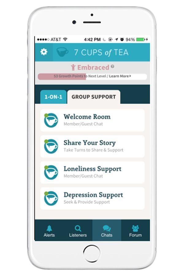 7 cups of tea app