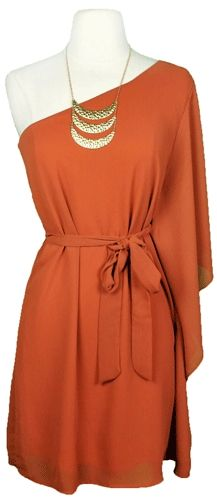 burnt orange and gold together, my fall favs!