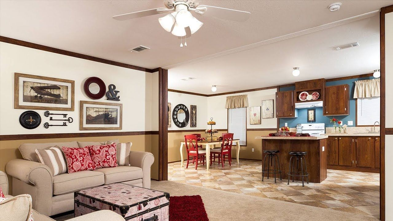 Gorgeous Manufactured Home Amelia H4483A With 3 Bedrooms And 2 Bathrooms Park Model RvAmelia