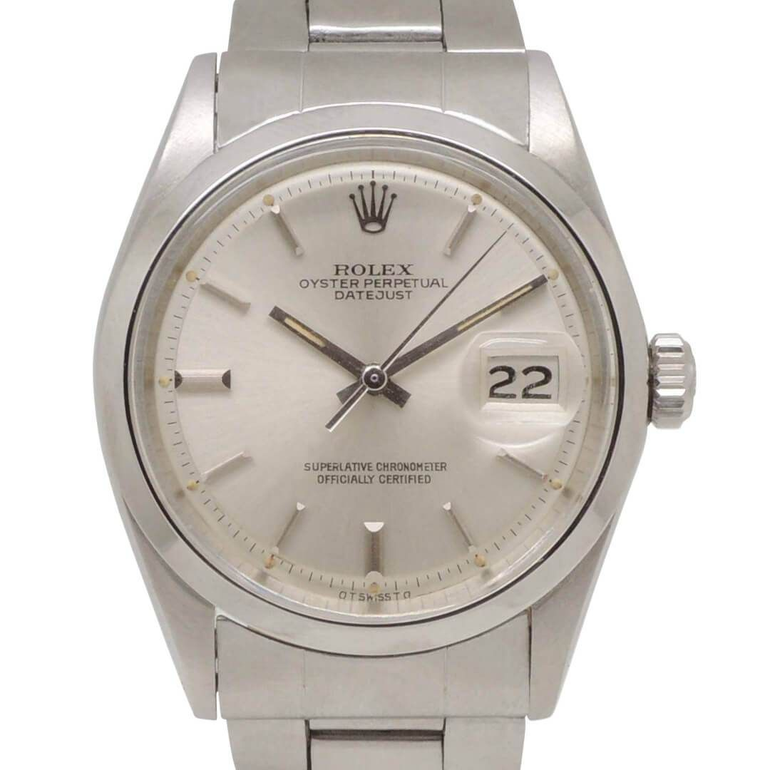 Rolex Datejust <a href=http://ref.1600/>http://ref.1600/</a> Men&#39;s Steel Vintage Watch