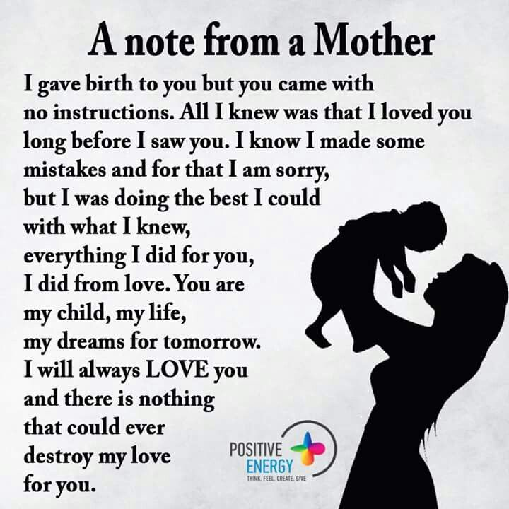 Pin by Carolyn Jeter on Children | Son quotes, Mother son ...