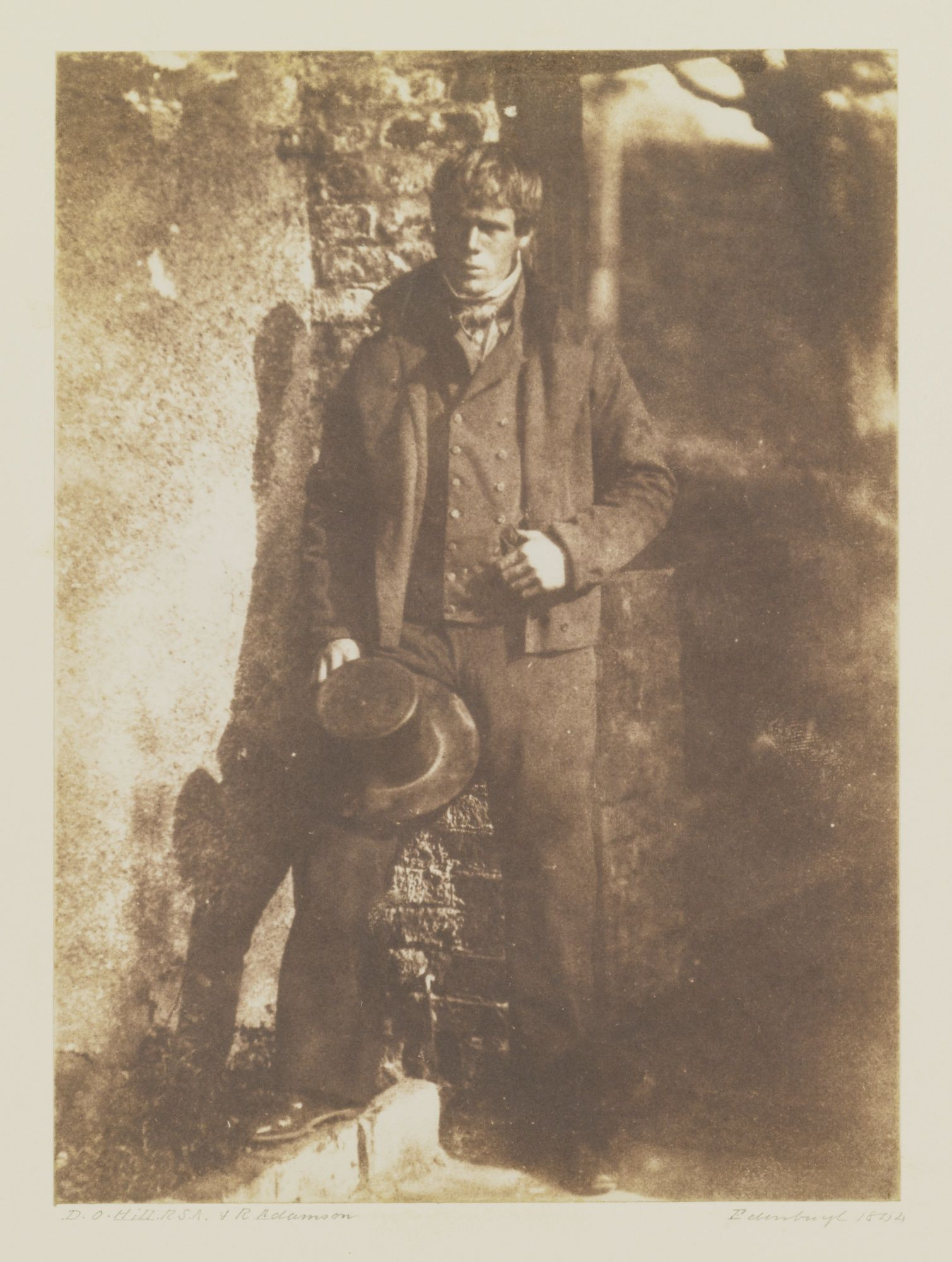 David Octavius Hill and Robert Adamson - A Newhaven fisherman, 1844