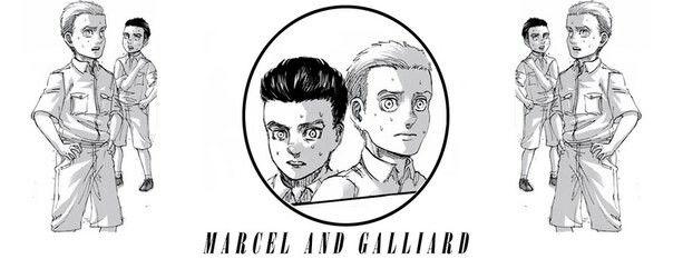 Marcel ( Berwick )  | Galliard | Shingeki no Kyojin |  Attack on titan | SNK | Marley