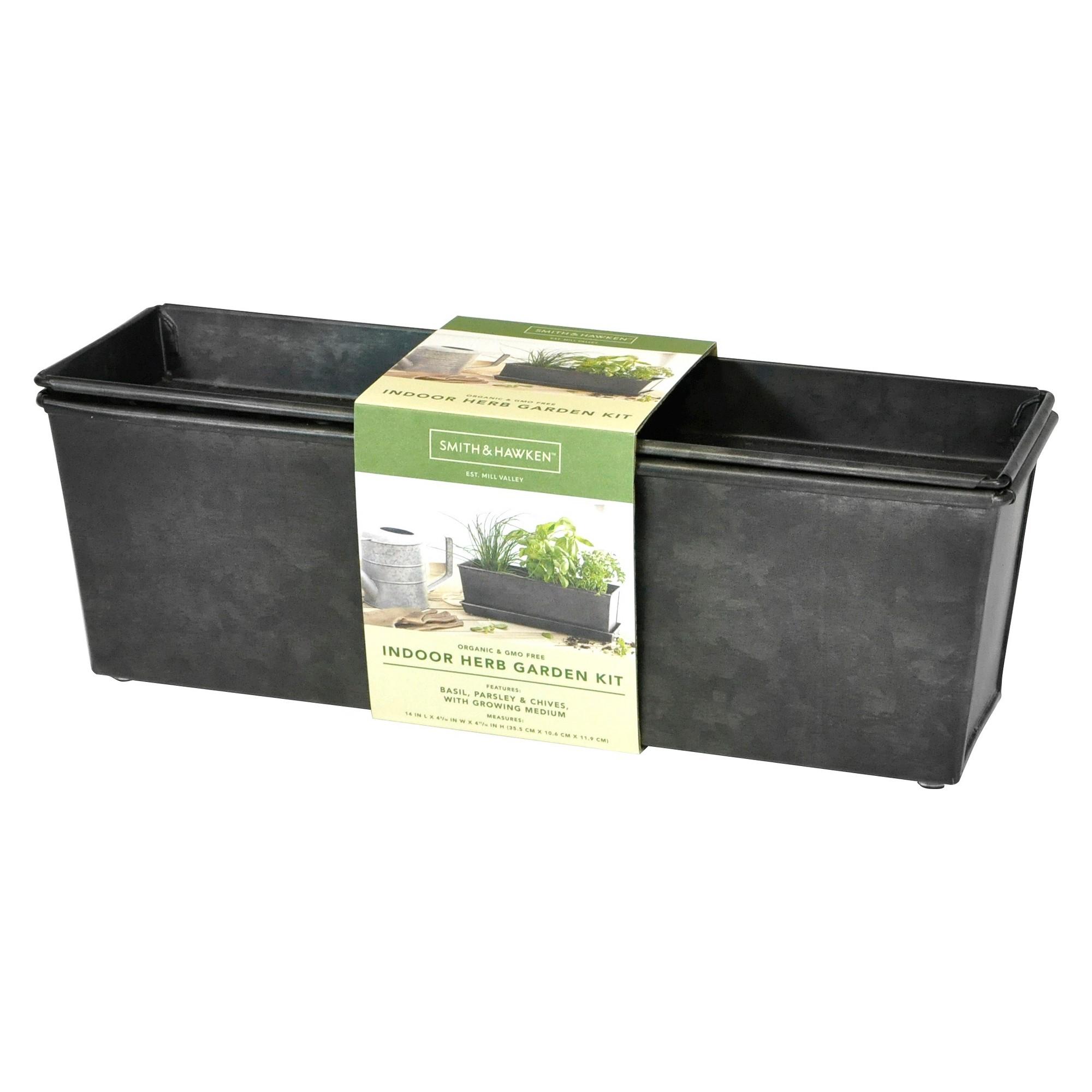 Outdoor Herb Garden Kit.Indoor Outdoor Herb Grow Kit Smith Hawken Products