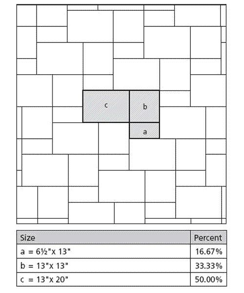 Tile Layout Patterns Using 3 Tile Sizes In The Plan By Tiler In Belfast Northern Ireland Tile Layout Tile Layout Patterns Tile Patterns