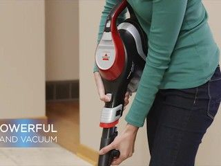 bissell trilogy prolite multi  vacuum offers cleaning versatility  upright power
