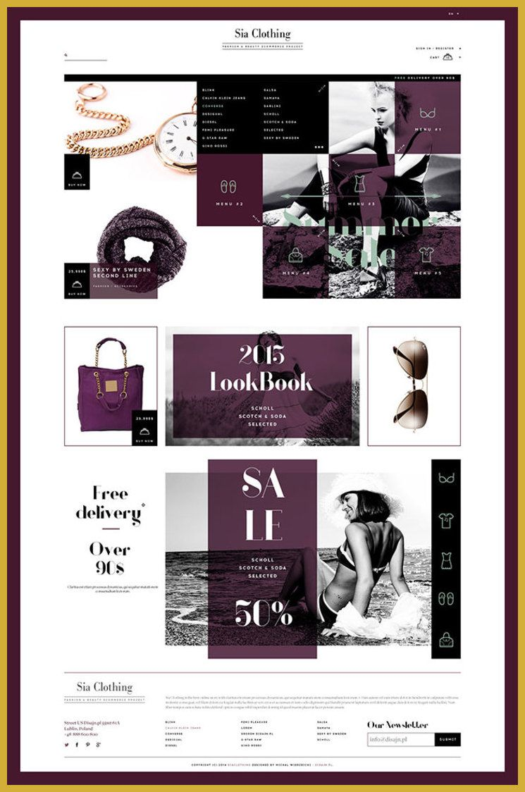 Tips And Tricks To Great Website Design Fashion Web Design Web Design Ecommerce Web Design