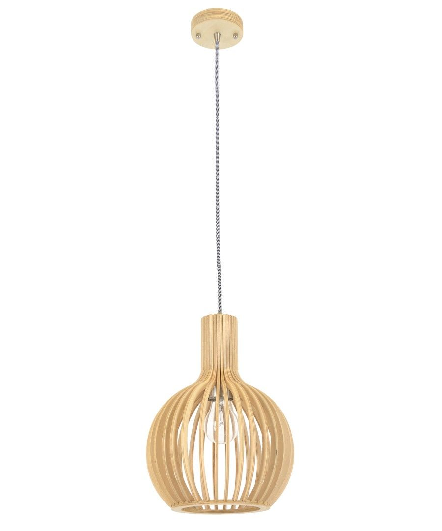 Malmo 1 Light 230mm Pendant in Natural Wood  sc 1 st  Pinterest & Malmo 1 Light 230mm Pendant in Natural Wood | Lights | Pinterest ... azcodes.com
