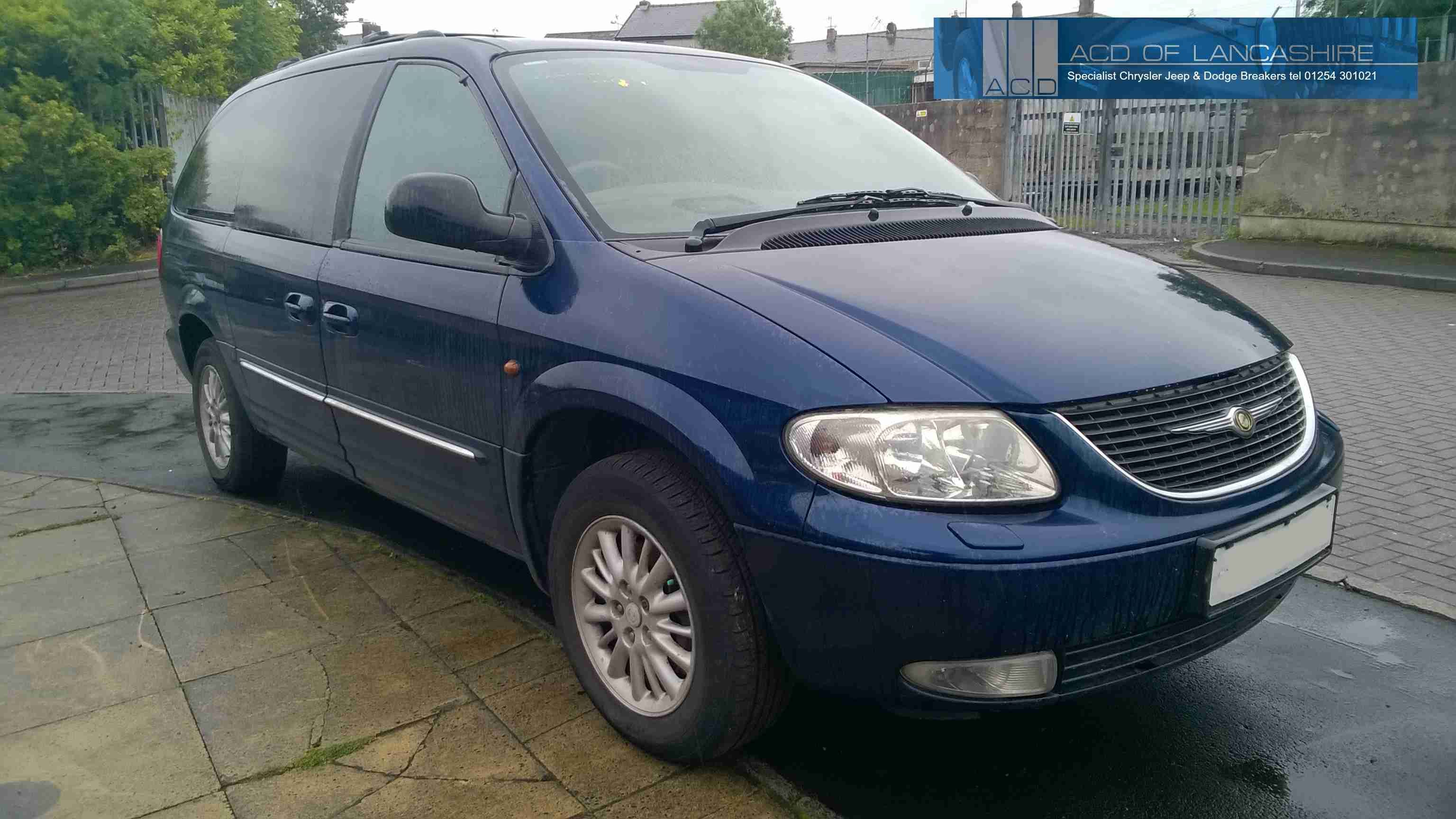 Chrysler Grand Voyager 2.5 Diesel 5 speed manual 2003.