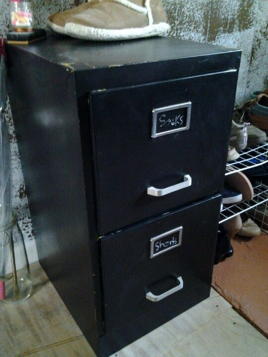My Reused File Cabinet Turned Into Dresser Filing Cabinet Cabinet General Crafts