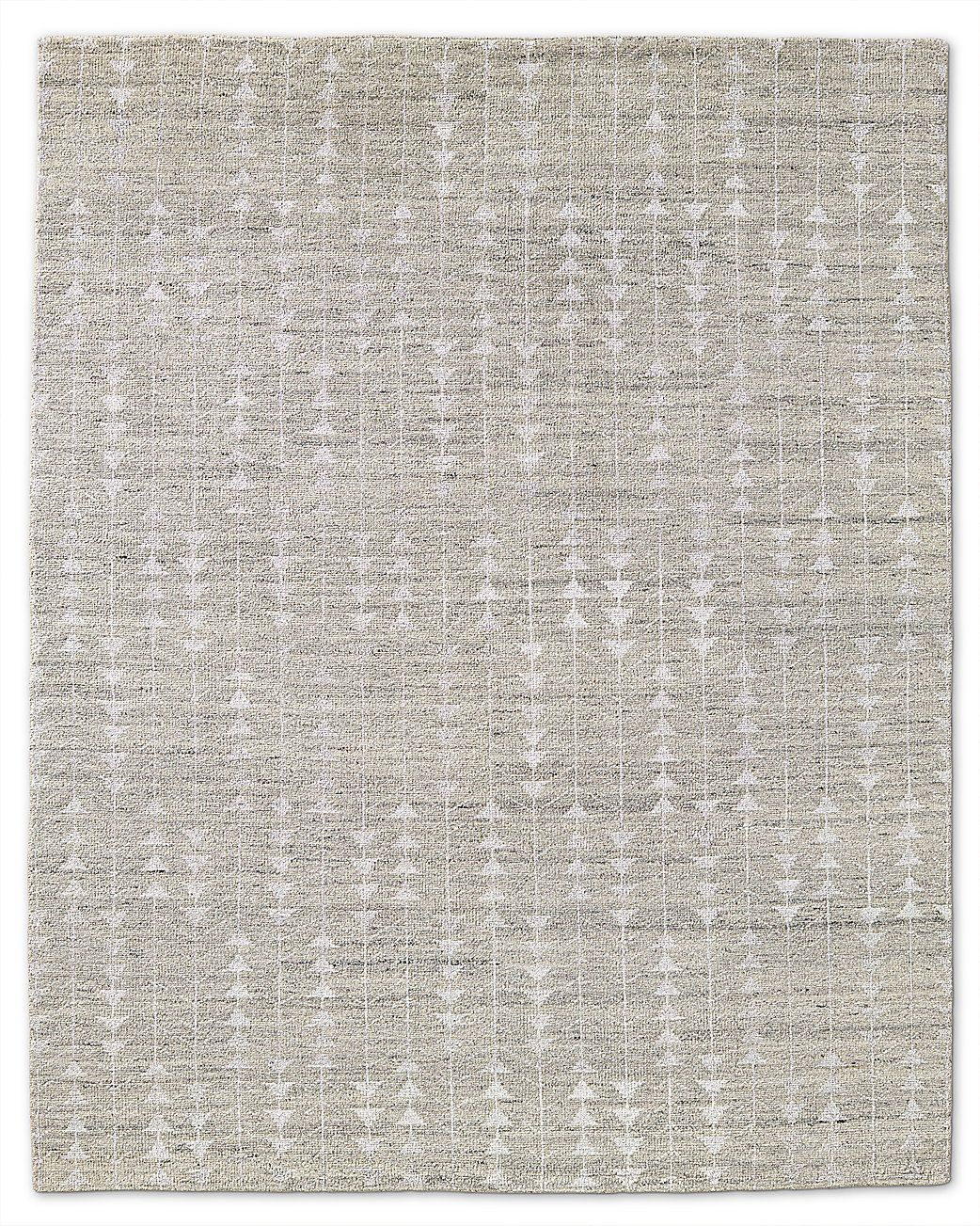 Rug with a subtle pattern from restoration hardware look for a less expensive version