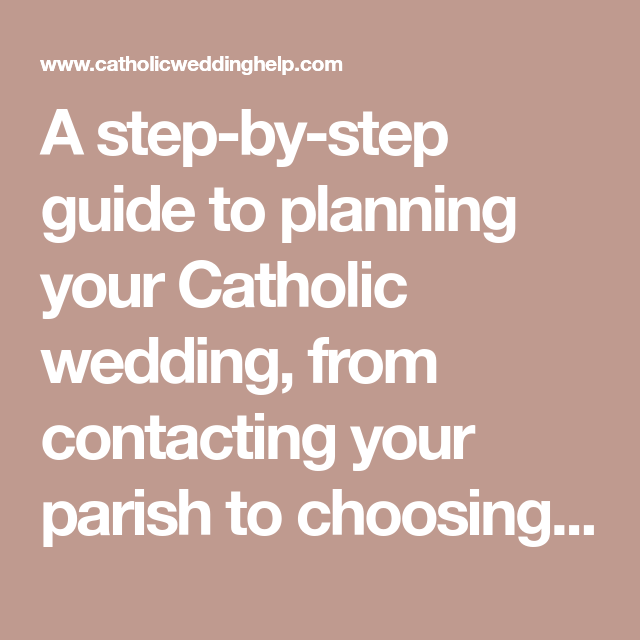 Planning your wedding diocese of trenton lawrenceville, nj.