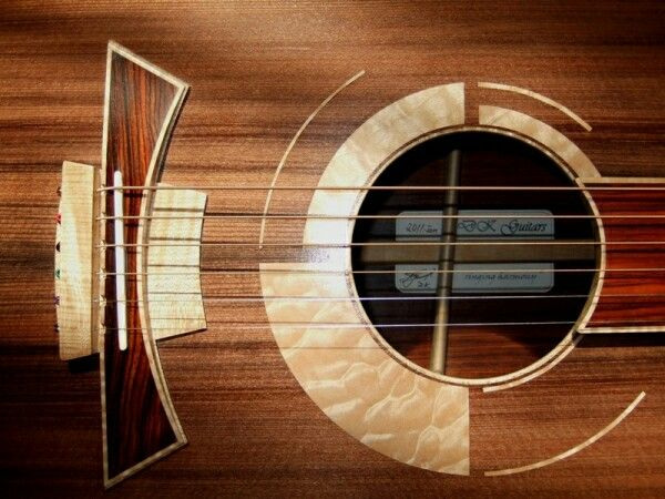 """DK Guitars - """"Concertino"""" model shown ~ AMAZING design! ~ Here is the web link > http://dkguitars.com/ ~ The link at the bottom is NOT the website, just some random generated pinterest page ..."""