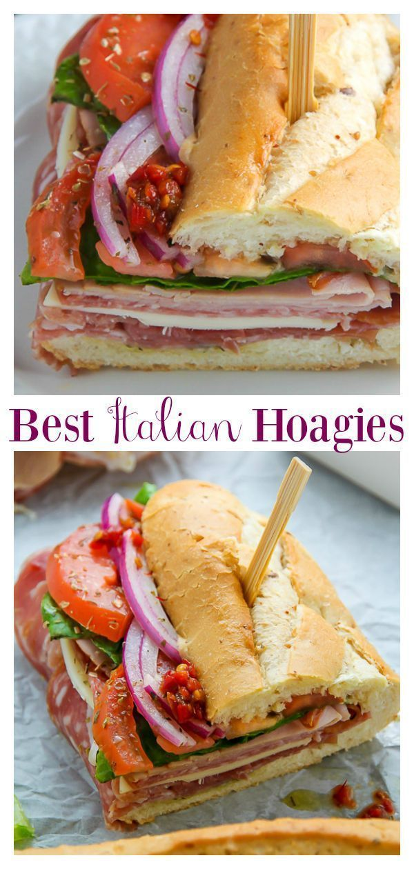 Photo of The Best Philly Style Italian Hoagies – Baker by Nature
