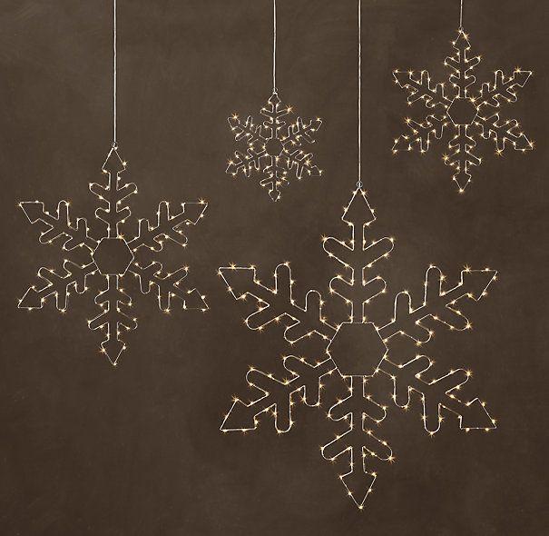 Starry Light Hexagon Snowflake Starry Lights Snowflake Lights