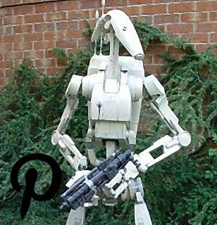 Papercraft 11 Scale Star Wars Battle Droid Papercraft 11 Scale Star Wars Battle Droid