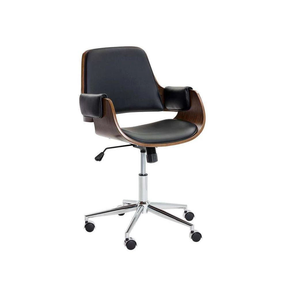 Kellan Office Chair In 2020 Contemporary Office Chairs Wooden Office Chair Office Chair #office #chair #living #room
