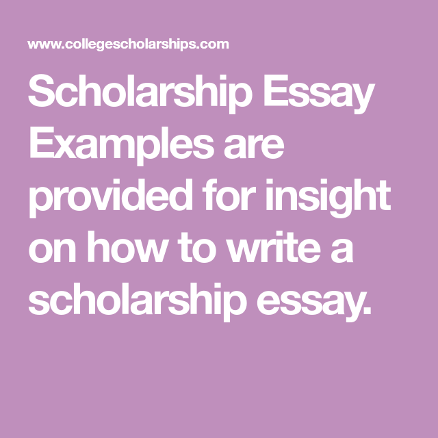 scholarship essay hints Scholarship personal essay writing tips the personal essay is an important part of your scholarship application this is your chance to let the scholarship.