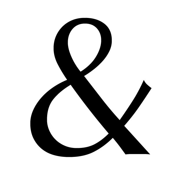 The History Of The Ampersand And Showcase Logos