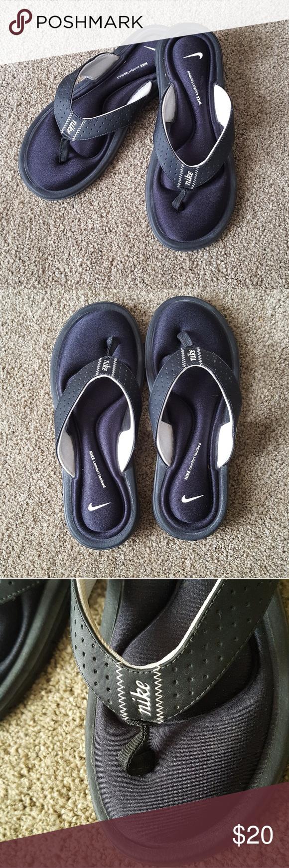6fe5ff061b1c6c Nike》Comfort Footbed Thongs•Flip Flops