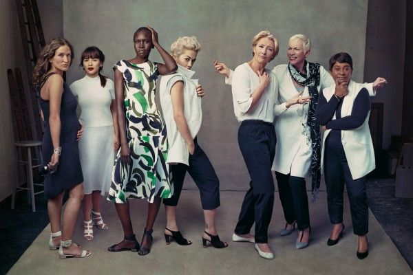 Marks & Spencer spring/summer 2014 campaign ´Leading ladies´. Like!