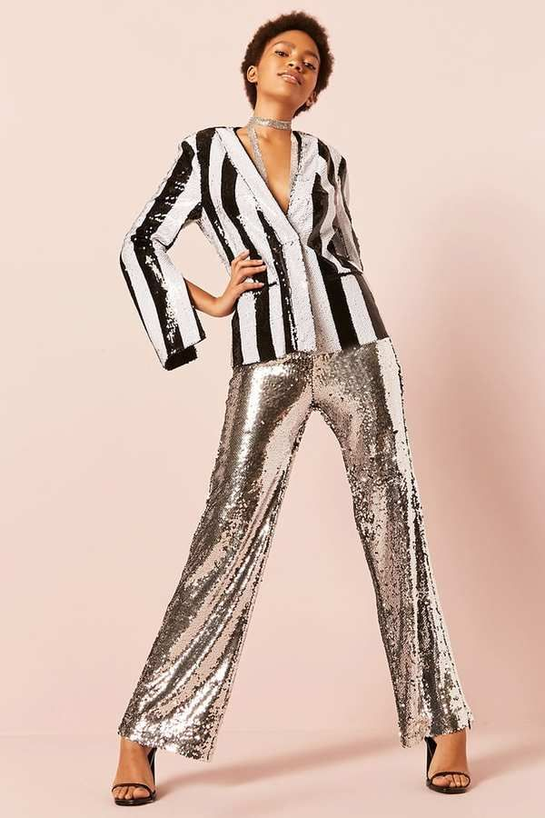 cb0e7e74bc89 FOREVER 21 Sequin Wide-Leg Pants   I would wear these. Sequins!  fashion   style  shopping